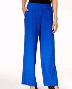 Women's Textured Wide Leg Pants
